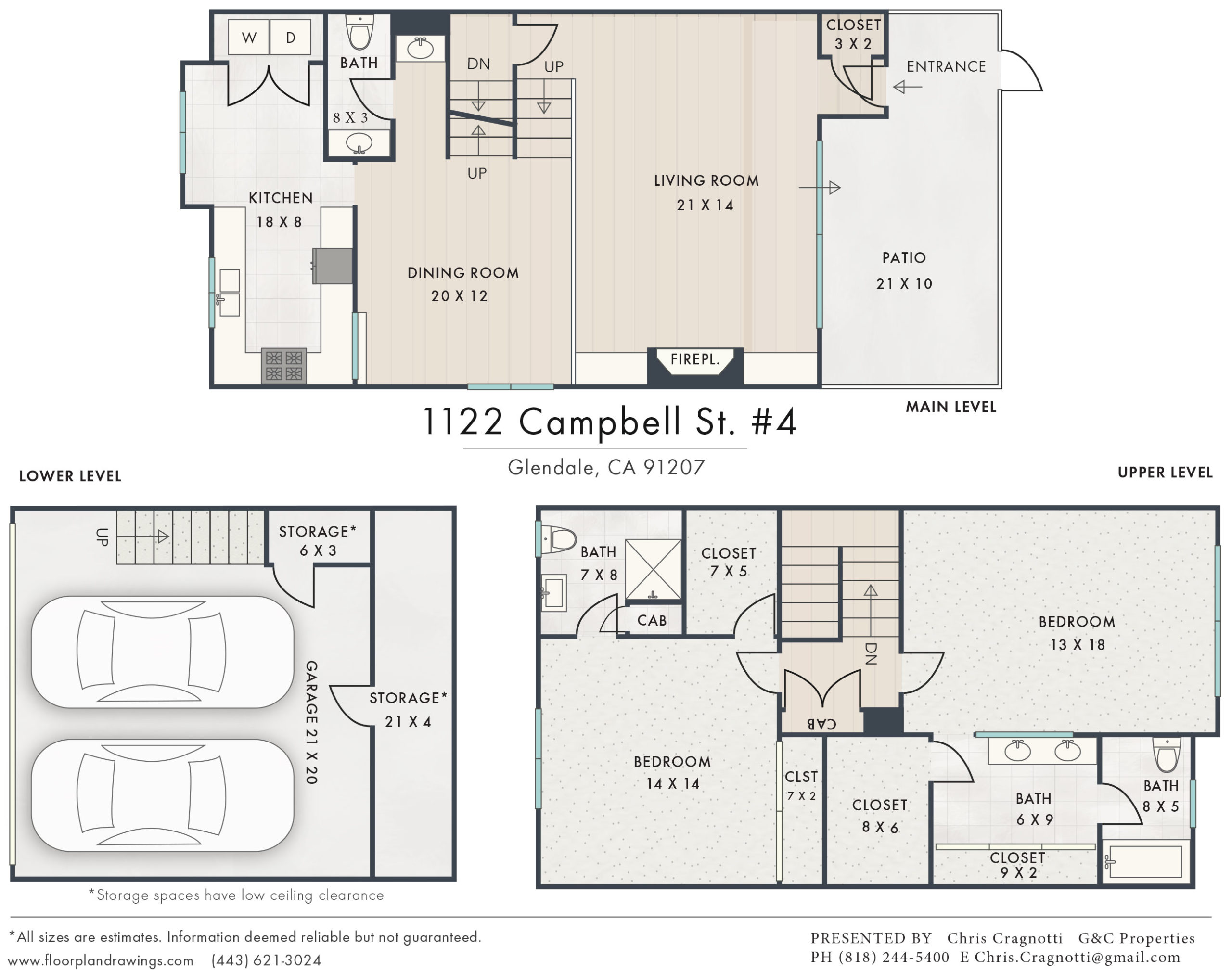 1122 Campbell St #4 Floorplan