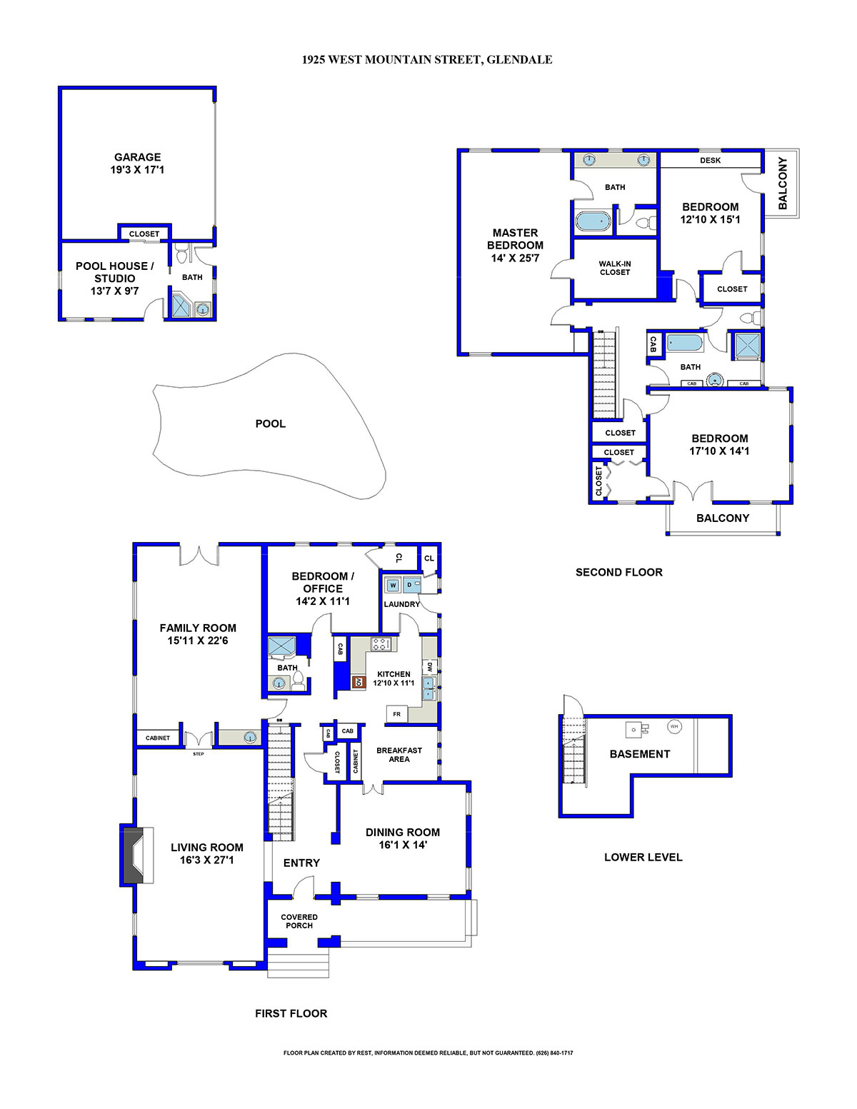 1925 W Mountain St Floorplan