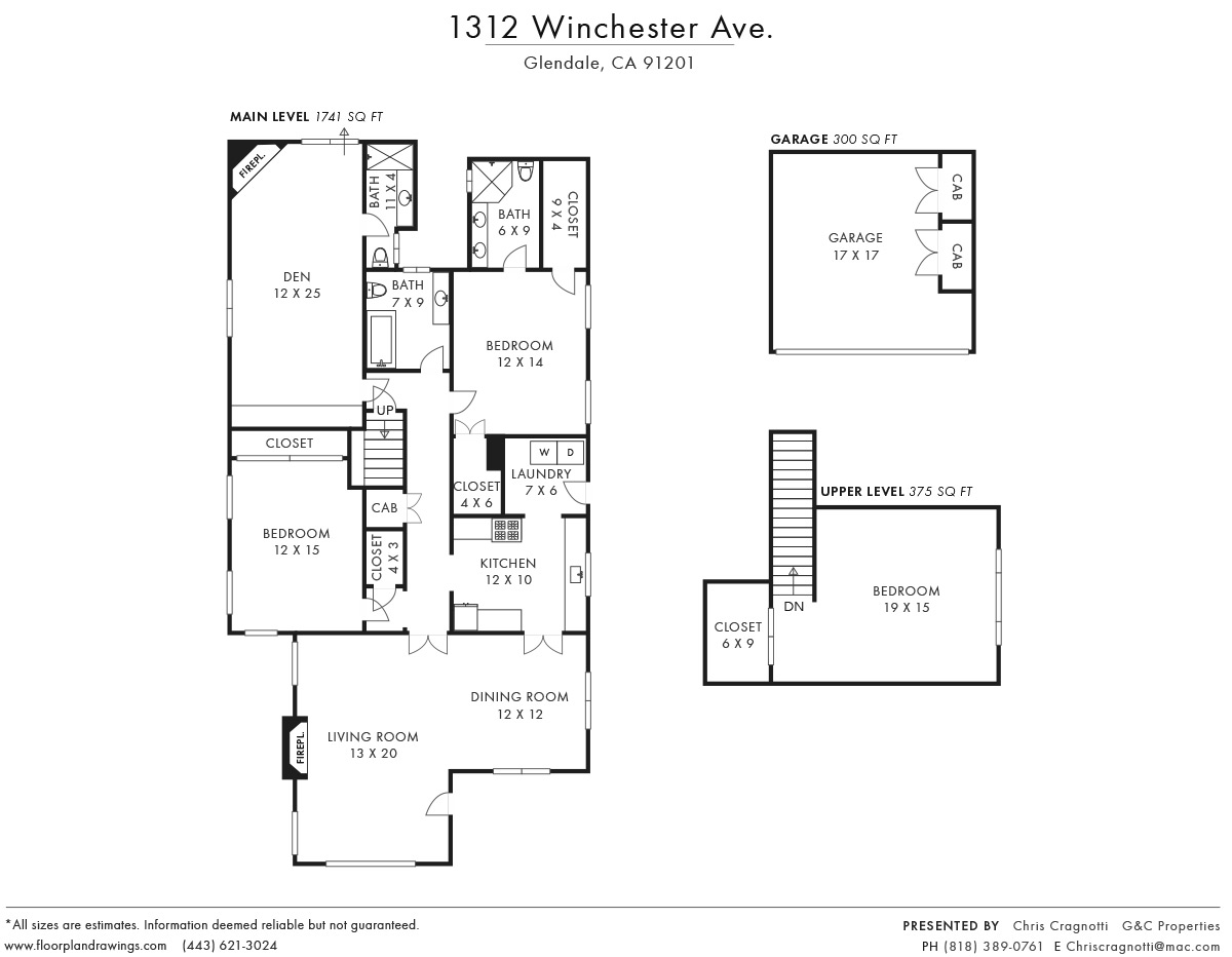 1312 Winchester Ave Floorplan