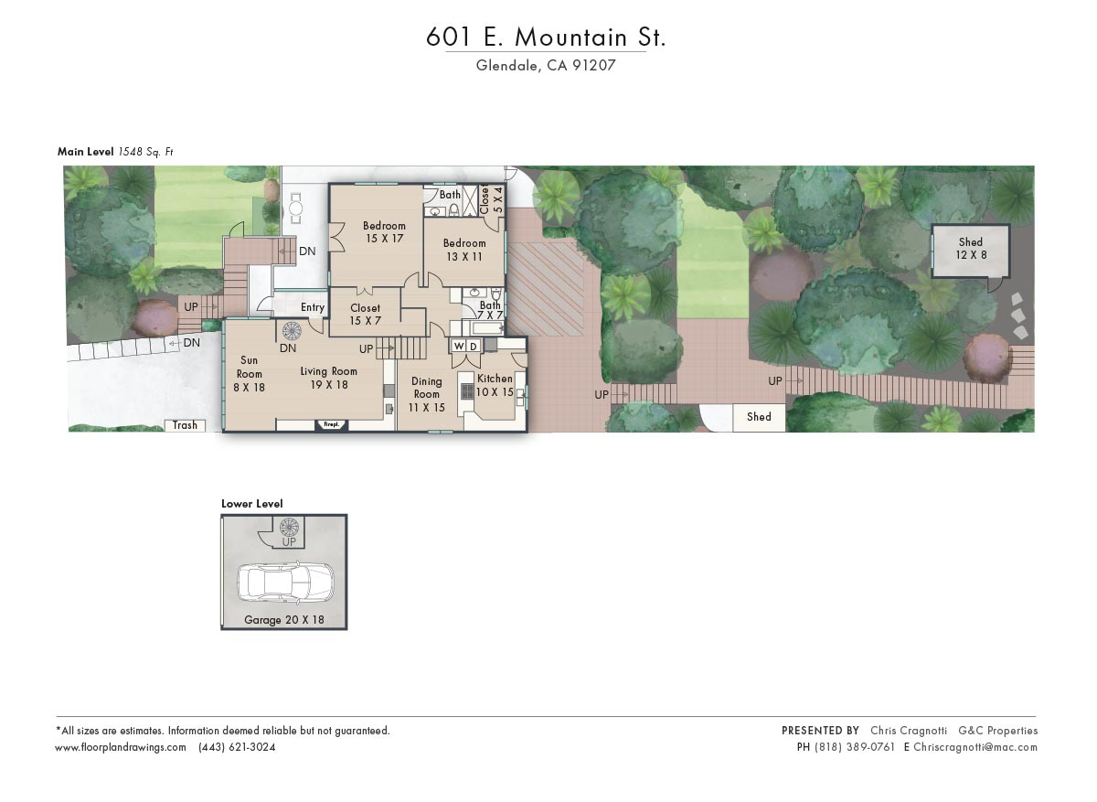601 E Mountain St Floorplan